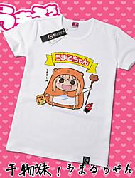 Inspiriert von Himouto Cosplay Anime Cosplay Kostüme Cosplay-T-Shirt Druck Gelb Kurze Ärmel T-Shirt-Ärmel