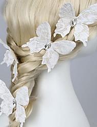 Шпильки-бабочки с камнями/украшения для волос