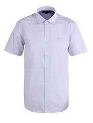 JamesEarl Herren Hemdkragen Kurze Ärmel Shirt & Bluse Lila-DA172013133