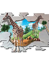 Animales / Botánico / Caricatura / Romance / De moda / Día Festivo / Paisaje / Formas / Transporte / Fantasía / 3D Pegatinas de pared