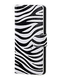 For Sony Case / Xperia XA Wallet / Card Holder / with Stand / Flip Case Full Body Case Black & White Hard PU Leather for SonySony Xperia