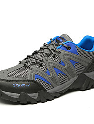 Men's Athletic Shoes Spring Fall Comfort Leather Tulle Outdoor Athletic Work & Safety Lace-up Hiking