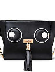 Figestin® Women PU Shoulder Bag Black-FW154121