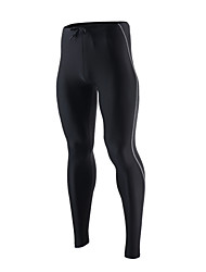 Running Tights / Pants/Trousers/Overtrousers / Bottoms Men'sBreathable / Quick Dry / Reflective Strips / Reduces Chafing / Soft /