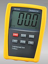 dm6802a vichy + jaune pour thermomètre