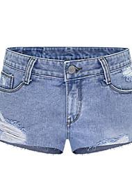 Women's Solid Blue / Black Jeans / Harem Pants,Plus Size / Casual / Day