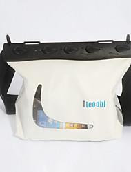 Сухие боксы Водонепроницаемые сумки Защита от влаги Подводное плавание и снорклинг PVC Черный