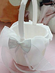 "Flower Basket Satin 9"" (23 cm) Bow 1"