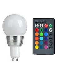 GU10 3W RGB Color Spotlights LED Colorful Remote Control Spotlights