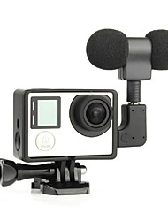 Accessori GoPro Smooth Frame / Microfono Stile Mini / Conveniente / USB / Anti-polvere, Per-Action cam,Gopro Hero 3 / Gopro Hero 3+ /