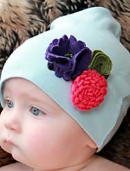 Kid's Handmake flowers Cotton Hat(1-4Years Old)