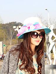 Mujer Sombrero para el sol Bonito / Fiesta / Casual-Primavera / Verano / Otoño-Paja