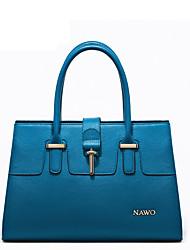 Nawo Donna Vacchetta Tote Blu-N153011