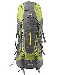 70 L Rucksack Camping & Wandern / Klettern / Legere Sport / Reisen OutdoorWasserdicht / Schnell abtrocknend / Regendicht / Staubdicht /