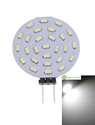 G4 MR11 GU4 GZ4 3W 27x4014SMD LED 300LM 3000K/6000K Warm White/Cool White Round Shape LED Bulb AC/DC12V