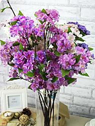 ein Zweig Seide Sakura künstliche Blumen 1pc / set