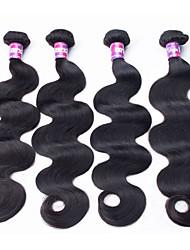 Человека ткет Волосы Бразильские волосы Естественные кудри волосы ткет