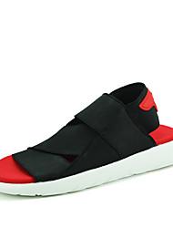 sapatos de tecido elástico sandálias respirável mensagem dos homens chinelos confortáveis