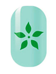 Green Hollow Nail Stickers