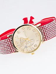 Ladies Fashionable Leisure Flowers Diamond Quartz Watch Cool Watches Unique Watches