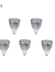 5pcs HRY® 10W MR16 800LM Warm/Cool Light Lamp LED Spot Lights(12V)