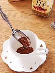 De estilo japonês minimalista colher de chá de aço inoxidável chá pá colheres de chá essenciais coffon colher