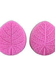 Leaf Shaped Silicone Fondant Cake Cake Chocolate Silicone Molds,Decoration Tools Bakeware