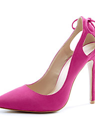 Women's Shoes Leatherette Stiletto Heel Heels / Basic Pump / Pointed Toe Sandals / Heels Wedding / Office & Career