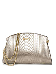 NAWO Women Cowhide Shoulder Bag Champagne-N152221