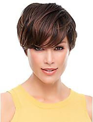 dame de vente chaud perruques couleur mélangée perruques de cheveux synthétiques