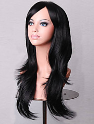 la mode dessin animé de couleur perruques colorées mascarade spéciale 70 cm