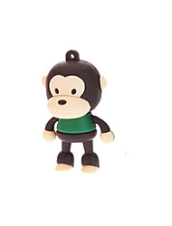 4GB Cute Rubber Monkey USB Flash Drive