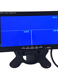 9 Inch Quad-TFT-LCD Car Rearview Monitor With 4 AV Channel
