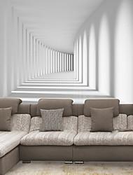 effet cuir shinny grande fresque papier peint 3d promenade fuselage large décor de mur d'art pour le salon arrière-plan