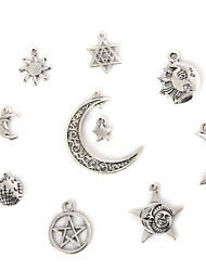 Charms / Pendants Metal Geometric Shape As Picture 2-18pcs