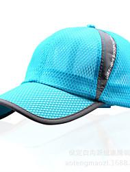 Chapeau Femme Homme Unisexe Résistant aux ultraviolets Respirable Ecran Solaire pour Base ball