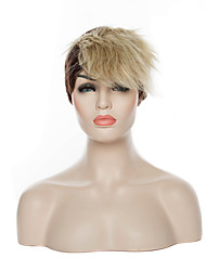 Capless Mix Color Popular Short Curly Synthetic Hair Wigs Cosplay Wigs Party Wig