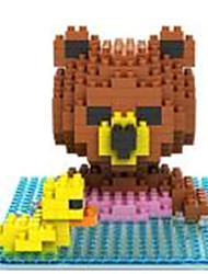 Loz Brown Bears Swimming Loz Diamond Blocks Block Toys DIY Toys(280 Pcs)