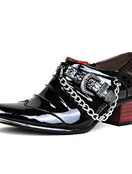 Men's Shoes Wedding / Office & Career / Party & Evening / Dress / Casual Customized Materials Oxfords Black