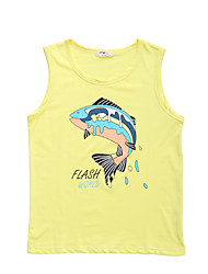 Boy's Cotton Tank & Cami / Tee,Summer Print