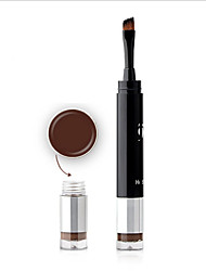 Three Color Two Point Eyebrow Dye Balm Pen With Brush Waterproof Fast Dry