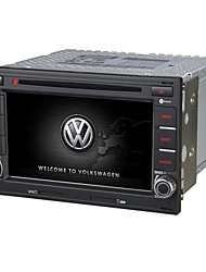 Wince 6.0 6.5Inch 2 Din Car Dvd Player Car Stereo Purchase For VW With Canbus  SWC Support Lossess Music 1080P Video