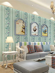Tapete Bäume/Blätter Tapete Luxuriös Wandverkleidung,Nicht-gewebtes Papier ja