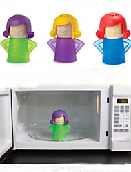 Microwave Oven Steam Cleaner Angry-Mama Steam Cleans and Disinfects With Vinegar and Water for Home or Office Kitchens