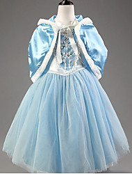 Halloween / Christmas /Children's Day / New Year Kid Princess Series Costumes / Fairytale Costumes Coat / Dress