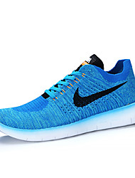 Nike Free RN Flyknit 5.0 Men's Running Shoes Trainers Sneakers Shoes Blue Green