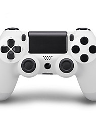 Kinghan® Dual Shock Wireless Bluetooth Game Controller for PS4 (White)