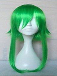 New Stylish Green Cosplay Wig Synthetic Hair Wigs Long Straight  Animated Wigs Party Wigs 084A
