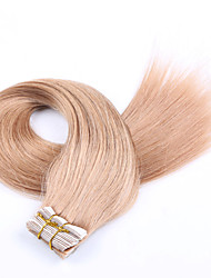 "16""-26"" 20pcs/set Tape in Human Hair Extension PU Skin Weft Hair Extensions Blonde Human Hair Extensions"