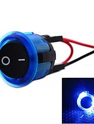 jtron DC12 ~ 14v 20а 2-контактный кулисный переключатель - (синий&черный)